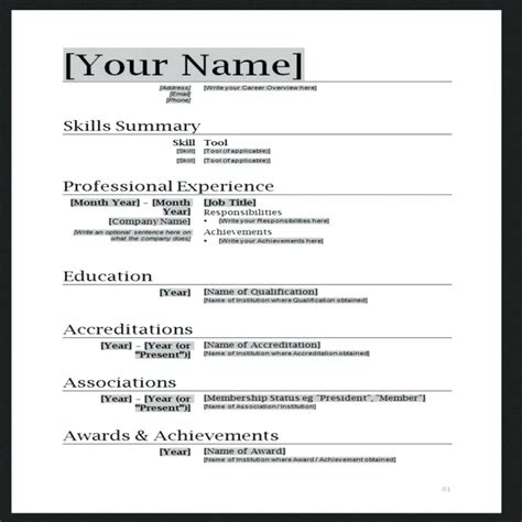 19518 free easy resume templates perfecto word 2007 resume plantillas gratis molde