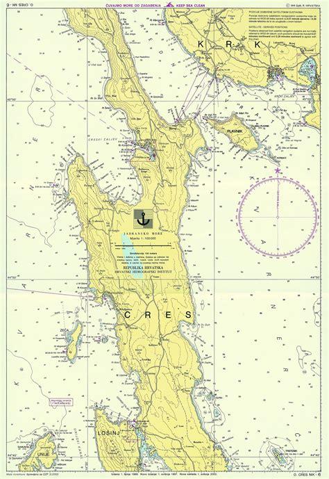carte nautiche  croazia vakance charter