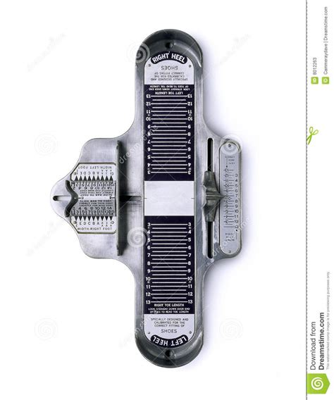 measure fitting shoe size stock image image  fits