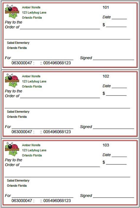 free printable checks template blank checks template printable play checks for