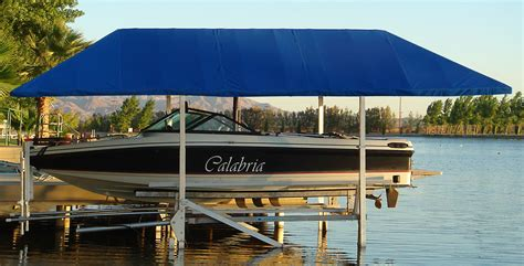 Boat Canopy Homemade by Diy Boat Lift Canopy Diy Projects