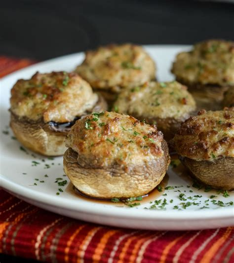 mushrooms stuffed fryer air cooking freeze