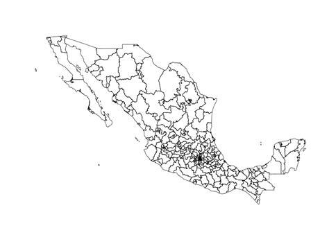 Download Electoral Shapefiles Of Mexico (secciones