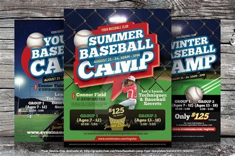 baseball flyer    vector eps psd