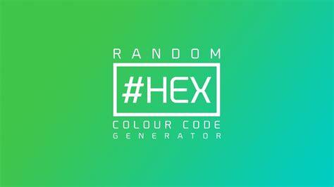 random color javascript random hex color code generator html css javascript
