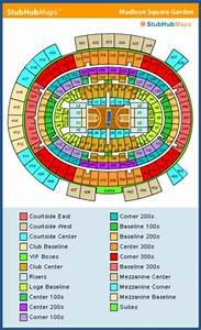 Square Garden Concert Seating Chart New York Knicks Tickets And Schedule 2016 17 Msg Seating