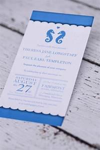 custom nautical seahorse wedding invitations canada With affordable wedding invitations edmonton