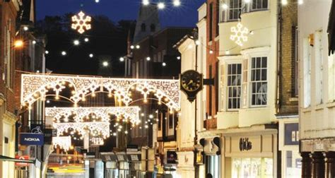winchester christmas lights switch on capital south coast