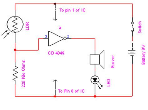 electronic eye electronic projects and circuit made easy