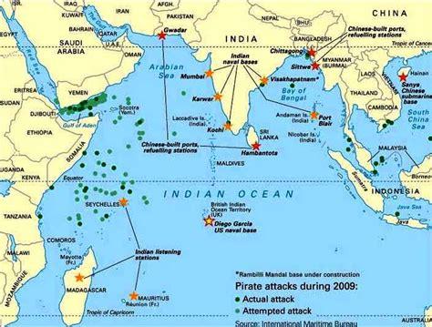 indian ocean persian gulf red sea