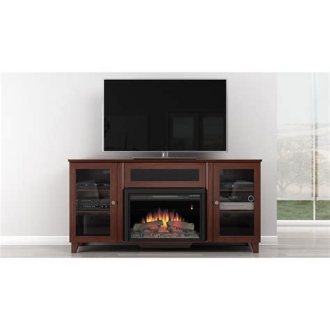 70 tv stand with fireplace ambience cherry 70 tv console with fireplace rcwilley