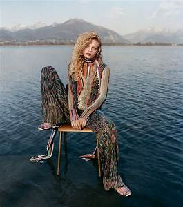 Frederikke Sofie for Missoni Fall/Winter 2016/2017 ...