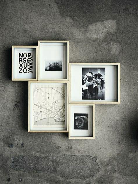 idee cadre photo pele mele beaucoup d id 233 es avec un cadre photo multivues et un cadre photo p 234 le m 234 le archzine fr