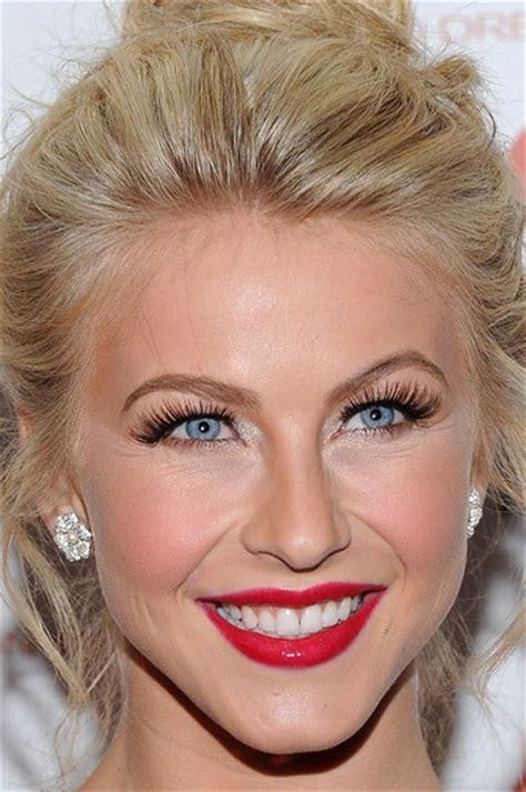 actress julianne hough red lipshairmakeup lipstick
