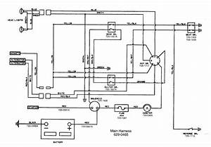 Can I Please See A Wiring Diagram For The Safety Switches For A Mtd Yard Machine With A 20 5 Hp