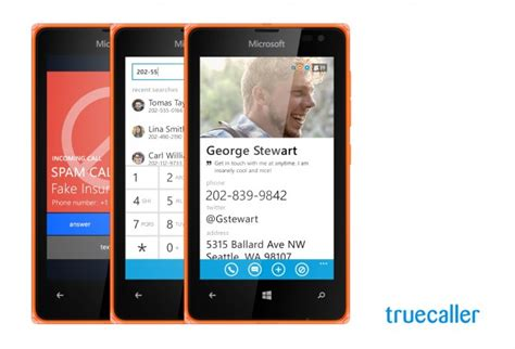 microsoft lumia devices get 6 months of free truecaller