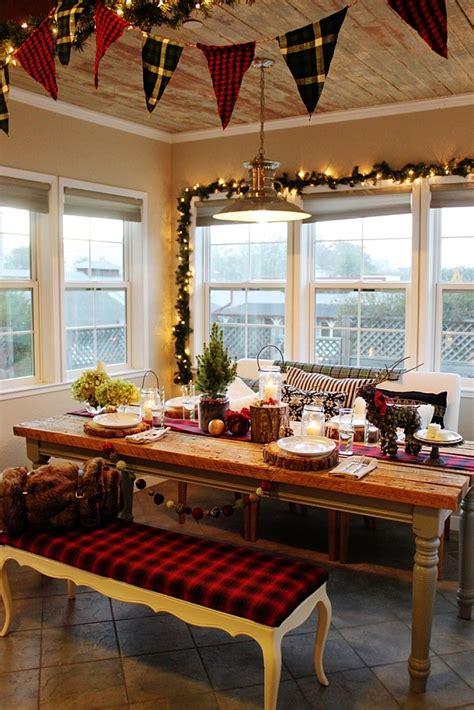 christmas kitchen decoration ideas curtains tablecloth