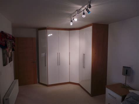 Fitted Corner Wardrobe  Modern  Wardrobes And Armoires