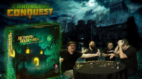 betrayal at house on the hill cardboard conquest playthrough of betrayal at house
