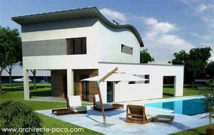 Amenagement interieur maison contemporaine modern aatl for Plan maison moderne 3d 4 plan de maison moderne 5 piaces 177 139 m178darchitecte 131