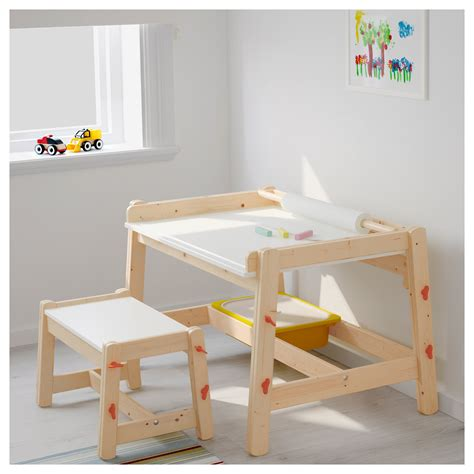 Ikea Childrens Writing Desk by Flisat Children S Desk Adjustable Ikea