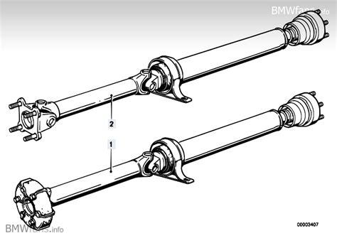flex disc  driveshaft bearing replacement