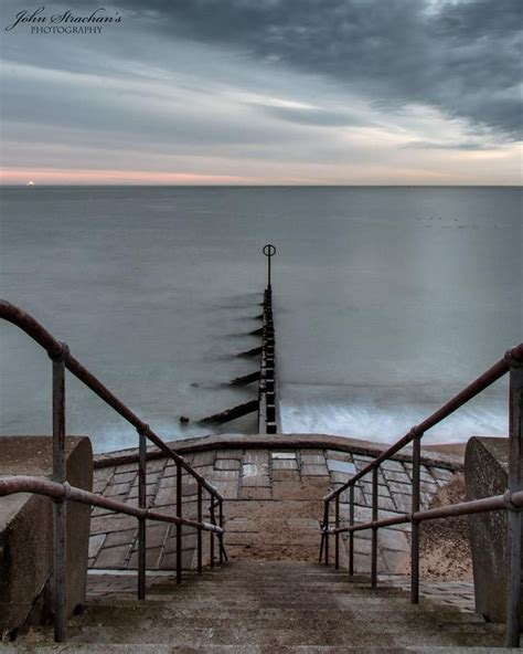 Aberdeen Beach Front, on Scotland's East Coast ...