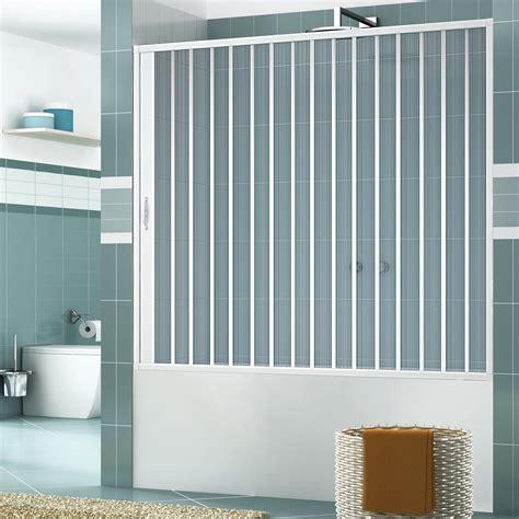 parete vasca bagno parete a soffietto per vasca