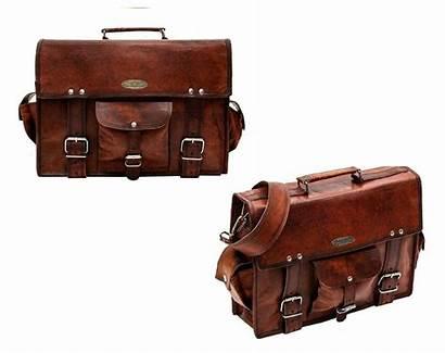 Laptop Bag Messenger Shoulder Leather Bags Inch