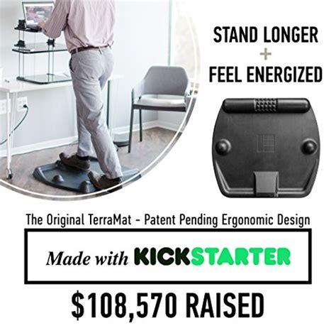 terramat standing desk mat ergonomic anti fatigue mat