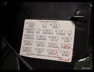 Camaro Z28 Fuse Diagram