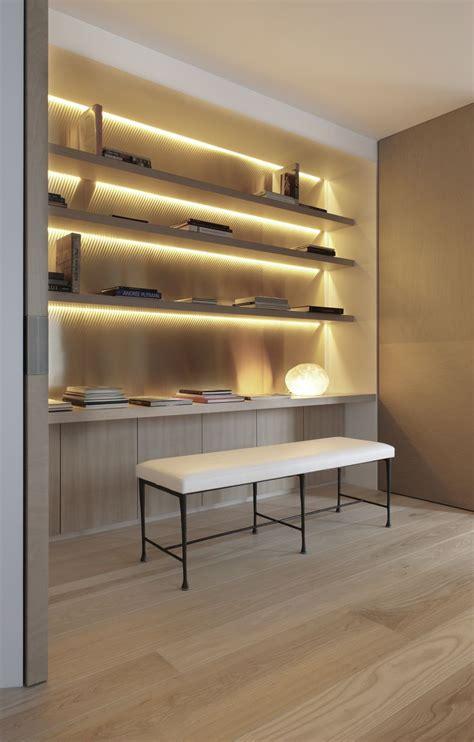 Shelf Lighting by Best 25 Recessed Shelves Ideas On Door Studs