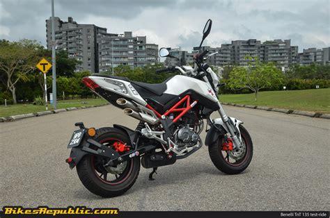 Modification Benelli Tnt 135 by Test Ride Benelli Tnt 135 Mighty Mini Moto Bikesrepublic