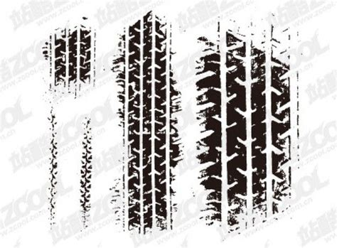 Tire Stenciel Template by Tire Marks Vector Material Stuff To Try Pinterest