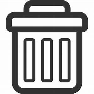 Image Gallery trash icon