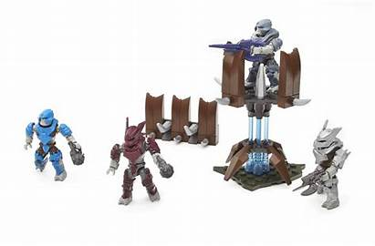 Halo Mega Bloks Brute Covenant Fireteam Lance
