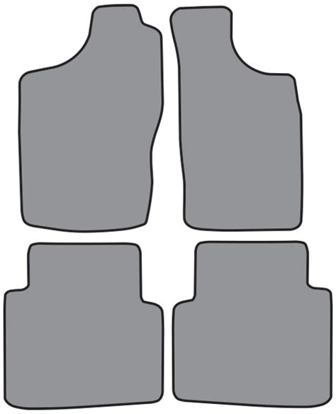 2004 Nissan Xterra Floor Mats by 2000 2004 Nissan Xterra Cutpile 4pc Factory Fit Floor Mats