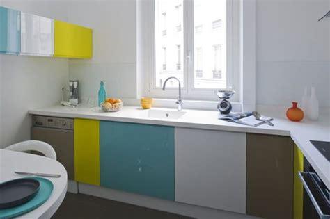 muebles bajos de cocina de colores imagenes  fotos