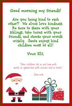 letter  santa letters  elves  pinterest