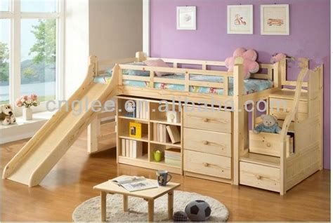 Buy Children Bed Design,kids Beds With Slide,wooden Bed Product