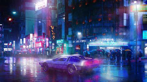 cyberpunk ride neon wallpapers hd wallpapers digital