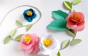 Guirlande En Papier Crépon : guirlande de fleurs en papier ~ Melissatoandfro.com Idées de Décoration