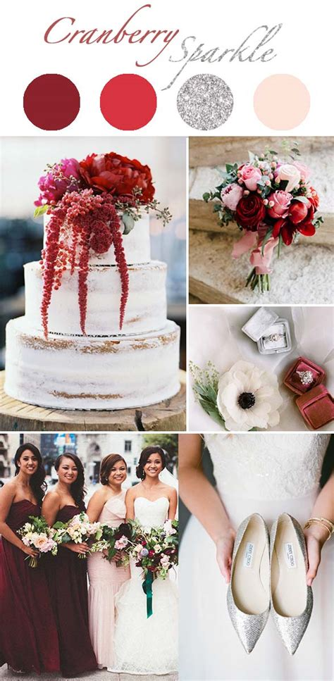 types of winter wedding color themes which presents cool tones that stunning you