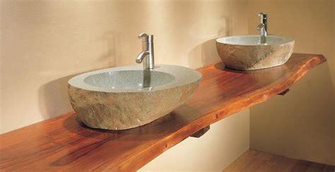 plan de travail cuisine bois brut idée décoration salle de bain plan de travail salle de