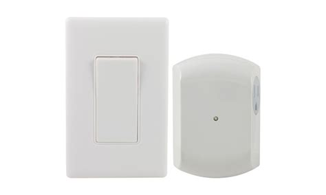 ge 18279 wall switch light remote with 1 outlet receiver groupon