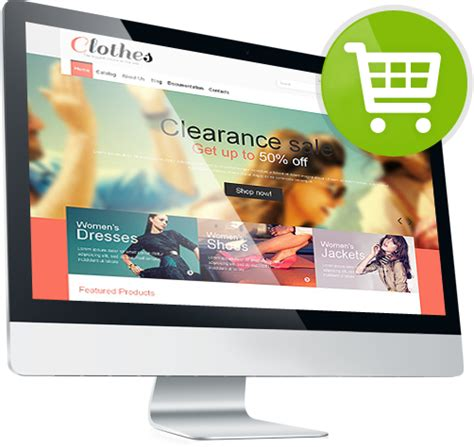 Template Ecommerce by Ecommerce Templates Template