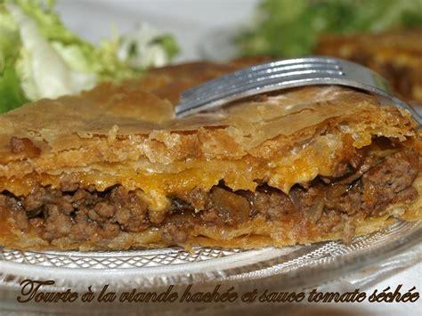tourte 224 la viande hach 233 e et sauce tomate s 233 ch 233 e dans vos assiettes
