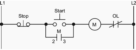 Start Stop Station Wiring Diagram by How To Wire A Start Stop Station Controlling A 120 Volt