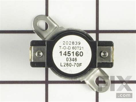 Oem Frigidaire Dryer High Limit Thermostat