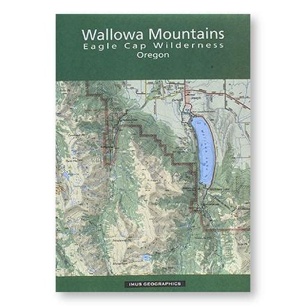 wallowa map eagle cap wilderness maps mountains imus mtns recreation oregon forest service rei mountain access